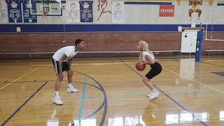 1V1 AGAINST EX FEMALE COLLEGE STAR!