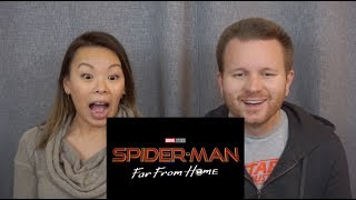 **NEW** Spider Man: Far From Home Official Teaser Trailer | Reaction & Review