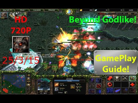★DoTa Batrider - GamePlay / Guide★KDA: 25/3/15!★Beyond Godlike!★