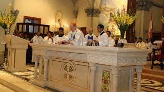 Video de la Dedicación del Altar Mayor de la Basílica de María Auxiliadora.