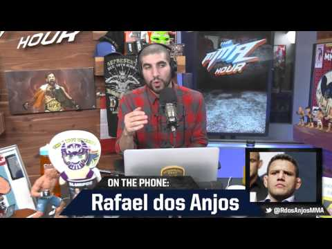 Rafael dos Anjos: Conor McGregor Lacked Heart at UFC 196