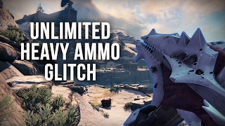 Destiny - Simple Unlimited Heavy Ammo Glitch