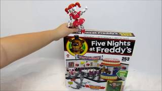 Five Nights at Freddy's Game Area Play Set Build--SO MUCH FUN!!!