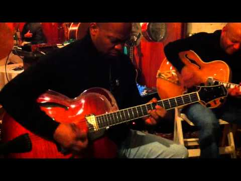Russell Malone&Mark Whitfield @ Rudy's Music SoHo