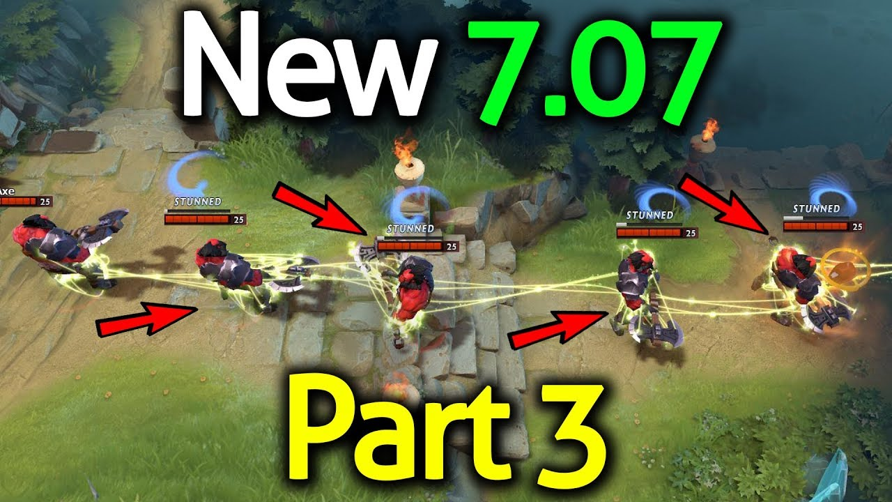 Dota 2 - PATCH 7.07 - NEW HERO CHANGES! (Part 3/4)