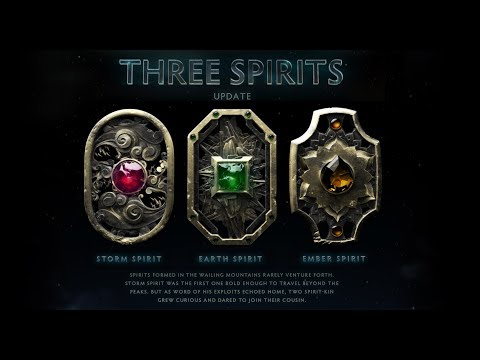 Dota 2 Three Spirits Update Preview