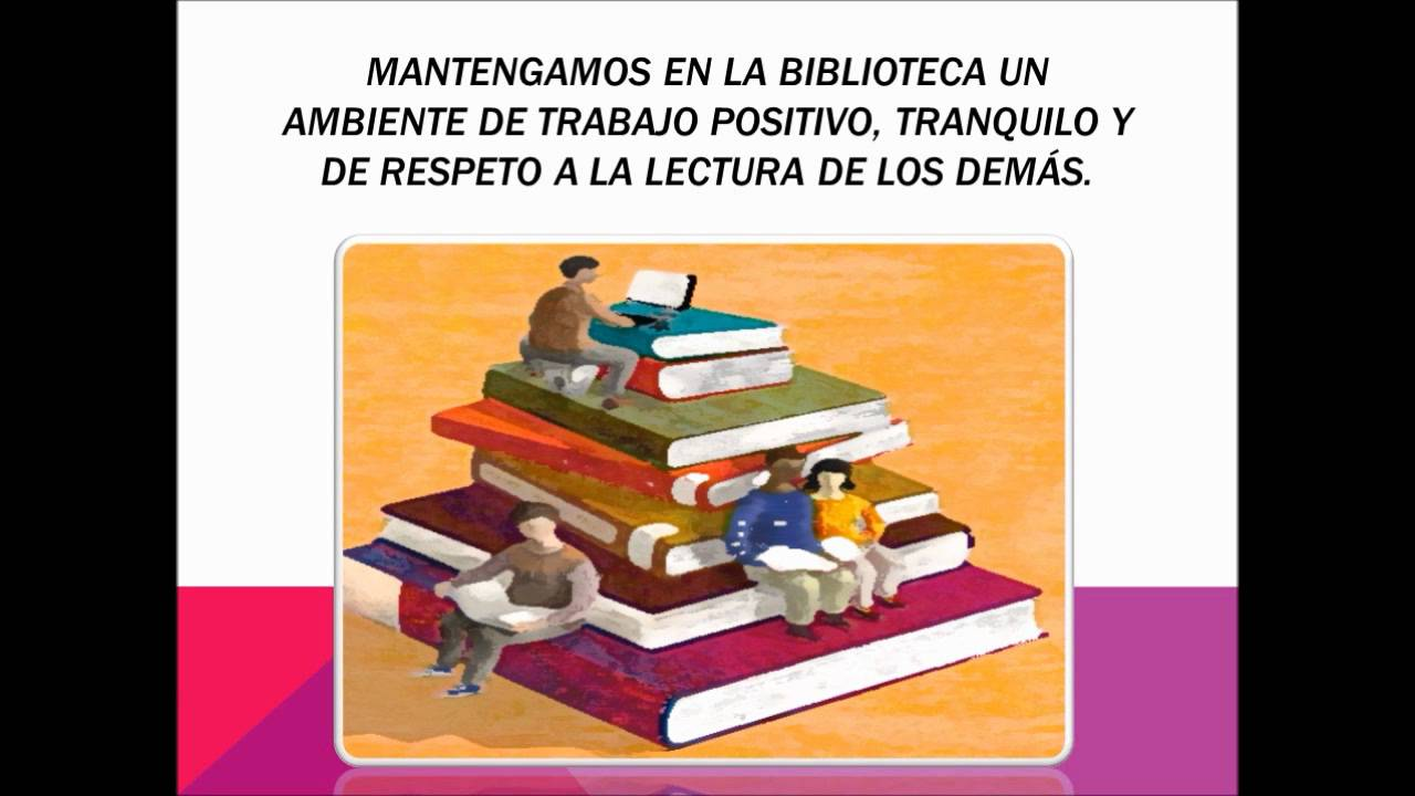 Reglamento biblioteca escolar youtube for 10 reglas del futbol de salon