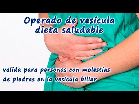 Dieta Saludable Para Operados De Vesícula O Personas Con Molestias De Piedras En La Vesícula Biliar