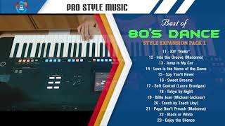 Touch My Heart - Style for Yamaha Keyboard - Best of 80's Dance music