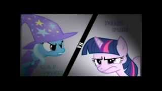 Twilight Sparkle VS The Great and Powerful Trixie Fandub del Caos