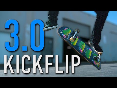 HOW TO KICKFLIP THE EASIEST WAY TUTORIAL 3 0 | HOW TO SKATEBOARD EP. 15