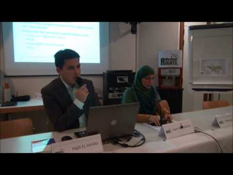 "BXL 21mars2013 Conf.Press:""Muslims Rights Belgium"""