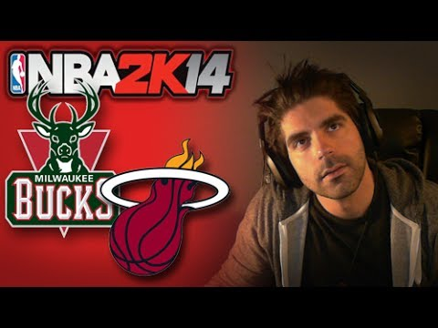 NBA 2K14 [Next Gen] Game 2 :: Heat vs Bucks