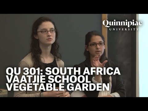 QU301 South Africa- Service Project 2013: Vaatjie School Vegetable Garden