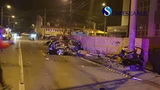 Accident mortal BMW Cluj Napoca