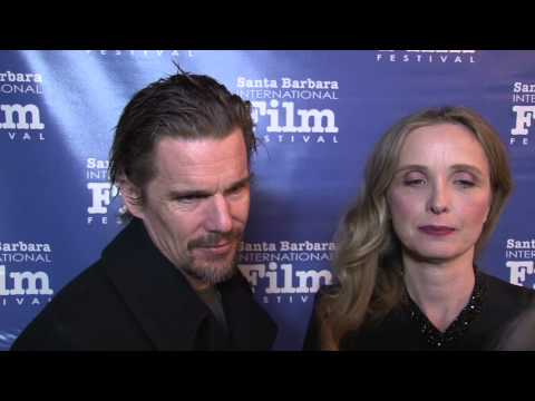 2014 SBIFF  - Ethan Hawke & Julie Delpy Red Carpet Interview