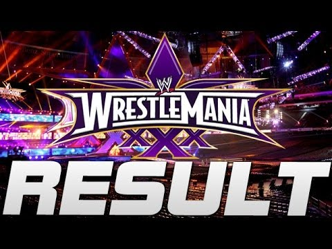 Match Wwe Wrestlemania 30 Wwe Wrestlemania 30 Vickie