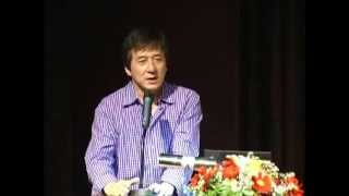 Jackie Chan at NIST facilitated by the International Peace Foundation