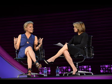 Fox News' Megyn Kelly in conversation with Katie Couric