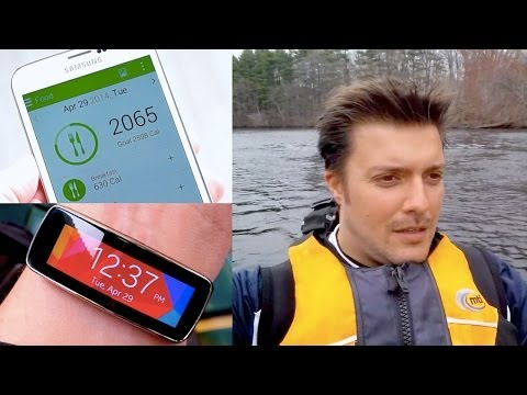 S Health review: our fitness adventure with the Gear Fit & Galaxy S5