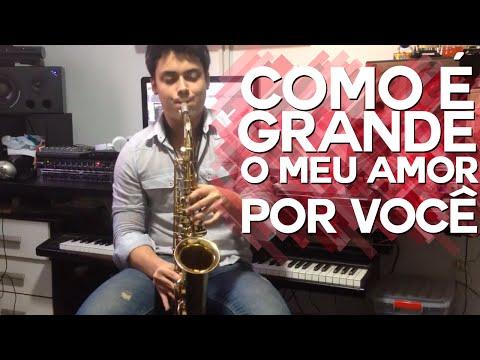 Caio Mesquita Sax: Como é Grande O Meu Amor Por Você - Roberto Carlos video