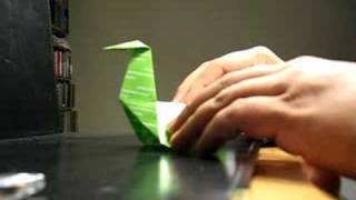 Origami Pecking Chicken