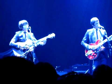 The Age Of The Understatement (live) - The Last Shadow Puppets @ Brian O'Connor benefit gig