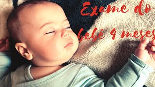 Exame do bebe 4 meses no Japão - Vlog -