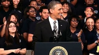 President Obama Speaks on Strengthening the Economy for the Middle Class 2/15/13