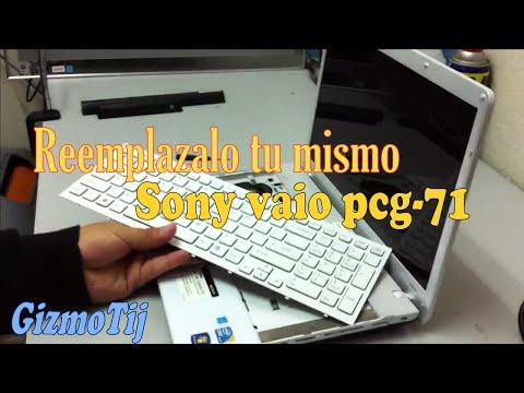 Sony vaio VPCEB35FX PCG 71316L Remplazar el Teclado - GizmoTij