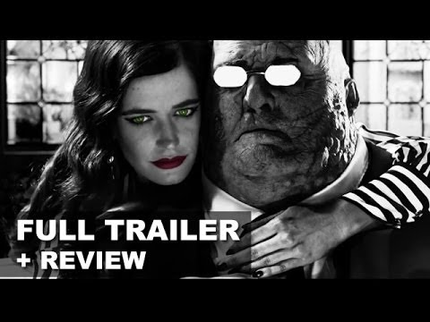 Sin City 2 A Dame To Kill For Official Trailer 3 + Trailer Review 2014 : Hd Plus video