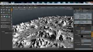MODO 3D freeze displacement uygulaması