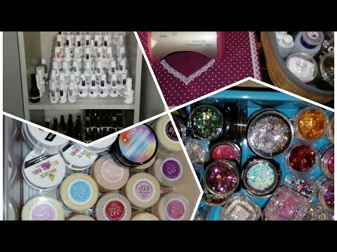 All of my nail stuff / julie,s nails