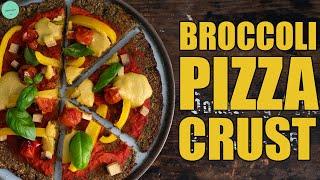 Vegan Broccoli Pizza Crust