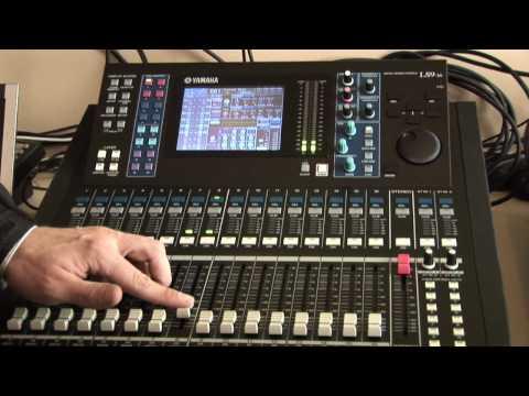 Yamaha LS9 demo // Part 1