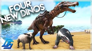 Ark Survival Evolved - New Dinos - Ovis Aries/Sheep , Basilosaurus , Baryonyx, , Purlovia , (254)
