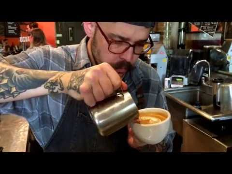 Cappuccino from Barista Ben at Spencer's Coffee for Daily Bowling Green July 11th, 2016