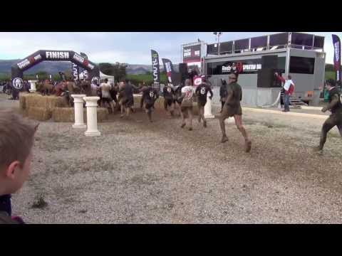 Spartan race arrivée