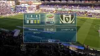 Parma Juventus 1-0 high lights