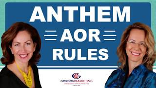 Anthem AOR Rules with Sylvia and Rebecca Gordon