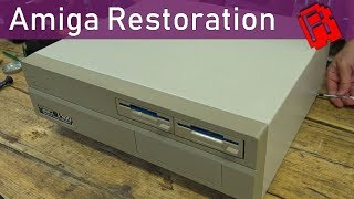 Amiga 1500 Restoration - Unexpected Problems   Trash To Treasure Pt2