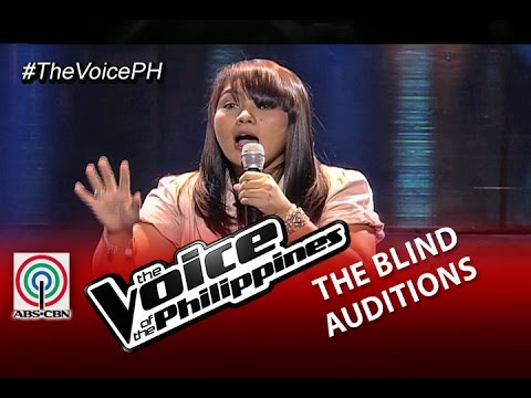 "The Voice of the Philippines Blind Audition ""Araw Gabi"" by Dang Del Rosario (Season 2)"