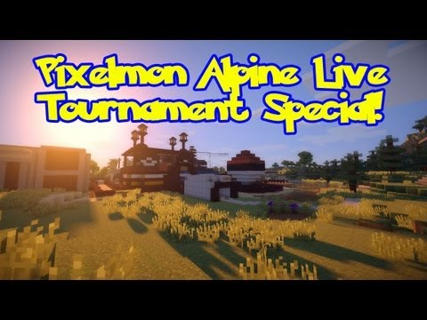 Pixelmon Tournament Special. Shiny/Fossil Pokemon Up 4 Grabs! 25/50/75 Level Brackets