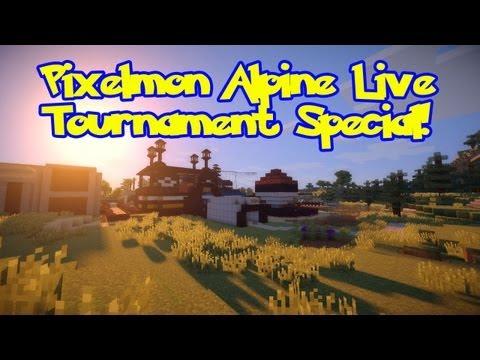 Pixelmon Tournament Special. Shiny/Fossil Pokemon Up 4 Grabs! 25/50/75 Level Brackets