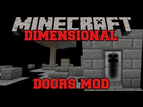 Minecraft Mod Showcase - Dimensional Doors Mod - Mod Review