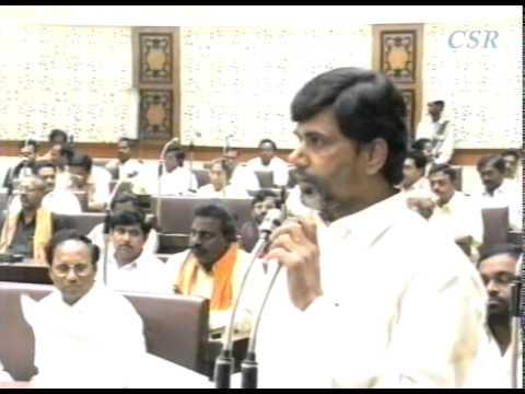 N. Chandra babu Naidu (1) - Dr. Marri Channa Reddy, Condolence Motion In AP Assembly Dec 9, 1996