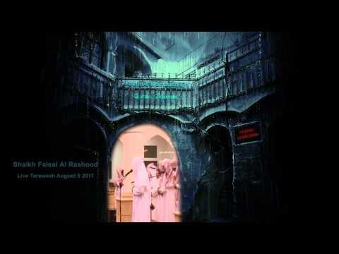 Live Taraweeh: Faisal Al Rashood