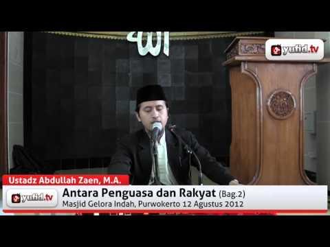 Jika Imam Shalat Blepotan - Tanya Jawab Islam Dengan Ustadz Abdullah Zaen