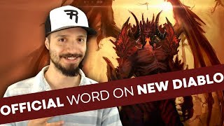 "CONFIRMED: ""Multiple Diablo projects in the works;"" Diablo 4 at Blizzcon 2018? & more..."