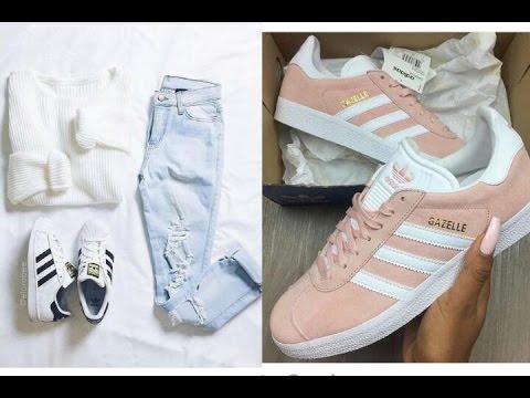 Zapatillas De Moda 2017/2018 | Tenis Adidas, Nike Y Más + Outfits.